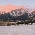Mount Princeton - Winter by Aaron Spong