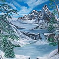Mountain Blues  by Sharon Duguay