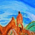 Mountain Vista by Stanley Morganstein