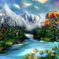 Mountains Majesty by Mia Hansen