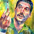 Mr Bad Guy - Freddie Mercury Portrait by Suzann Sines