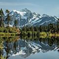 Mt. Shuksan In The Fall by E Faithe Lester