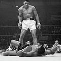 Muhammad Ali Taunting Sonny Liston by Bettmann