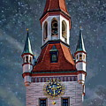 Munich Bell Tower by Anthony Dezenzio