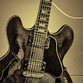 Music Picture Gibson Guitar 1744.012 by M K Miller