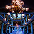 My Blue Dress In My Blue Palace by Blake Richards