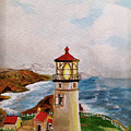 My Lighthouse by Joan M Anderson
