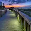 Myrtle Beach Boardwalk #2 by David Smith