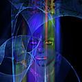 Mystic Alien Woman by Judi Suni Hall