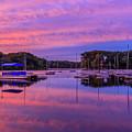 Mystic Lake Sunrise by Rob Davies