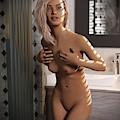 Naked Female Bath by Gordon Punt
