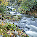 Nantahala Fall Flow by David R Robinson