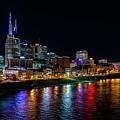 Nashville At Night by Rod Best
