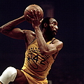 Nate Thurmond Action Portrait by Walter Iooss Jr.