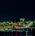 National Harbor Lights by Lora J Wilson