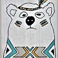 Native American Polar Bear by Rob Hans