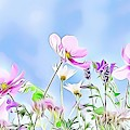 Naturalness And Flowers 59 by Leo Rodriguez