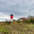 Nauset Light In May by Michelle Constantine
