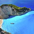 Navagio Beach, Zakynthos Island, Greece by Rusm