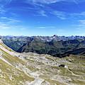 Nebelhorn Panorama by Andreas Levi