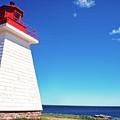 Neils Harbour Lightstation, Cape Breton Island, Nova Scotia,  by Thomas R Fletcher