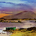 Neiphin Sunset, Mayo. by Val Byrne