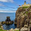 Neist Point Lighthouse by Matthew Irvin