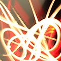 Neon Fireworks by Mario MJ Perron