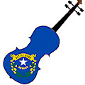 Nevada State Fiddle by Bigalbaloo Stock