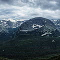 Never Summer Mountains Panorama by Andy Konieczny