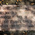 Never Thirst - John 4 by Susie Weaver