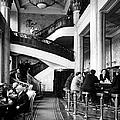New, Expensively Elegant Cocktall Hall O by Margaret Bourke-white