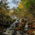 New Hampshire Garwin Waterfall by Juergen Roth