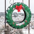 New Mexico Christmas Card by Britt Runyon