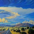 New Mexico Cloud Patterns by Art West