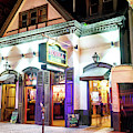 New Orleans Bourbon Street Tequila House At Night by John Rizzuto