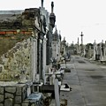 New Orleans Cemetery by Rosanne Licciardi