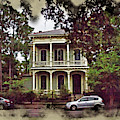 New Orleans Home In Watercolor by Robert Kinser