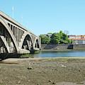 new road bridge across river Tweed at Berwick-upon-tweed by Victor Lord Denovan