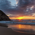 New Years Eve Strands Beach by Cliff Wassmann
