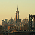 New York City Cityscape Sunrise by Cribbvisuals