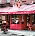 New York City Cornelia Street Cafe by John Rizzuto