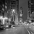 New York City Gotham West Market New York Ny Black And White by Toby McGuire