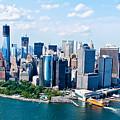 New York City Sky View by Rene Pi