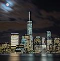 New York City Skyline At Night by Markus Hermannsdorfer