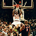 New York Knicks Patrick Ewing Does A by New York Daily News Archive