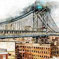 New York Panorama - 29 by Andrea Mazzocchetti
