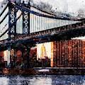 New York Panorama - 30 by Andrea Mazzocchetti
