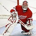 New York Rangers V Detroit Red Wings by Gregory Shamus
