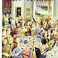 New Yorker June 28th 1947 by Constantin Alajalov